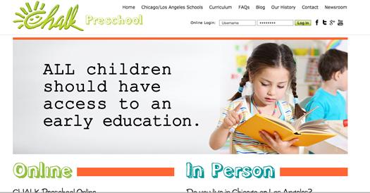 Chalk Homepage
