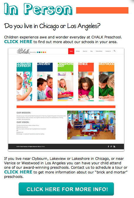 Chalk Preschool Locations